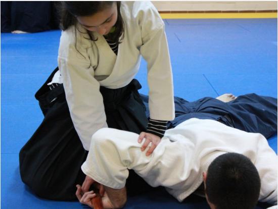 Guiomar Moraleda Encarnación Instructor of Aikido, Thai Chi and Personal Defence at Infinite Love Coaching Academy Marbella Malaga Spain