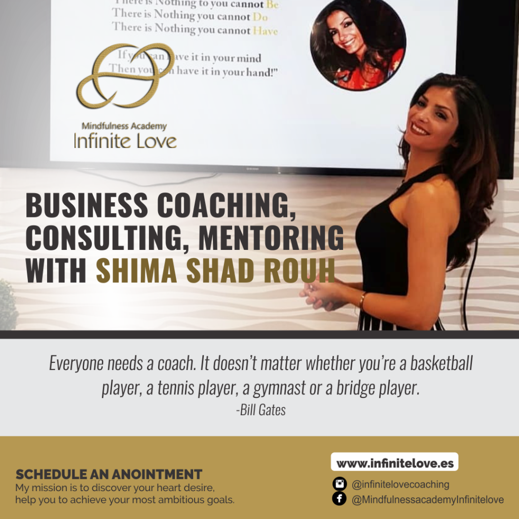 Business coaching with Shima shad rouh