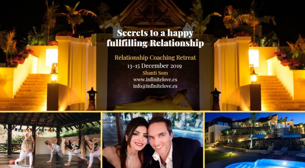 Relationship Coaching Retreat by infinite love academy in Shanti Som Marbella