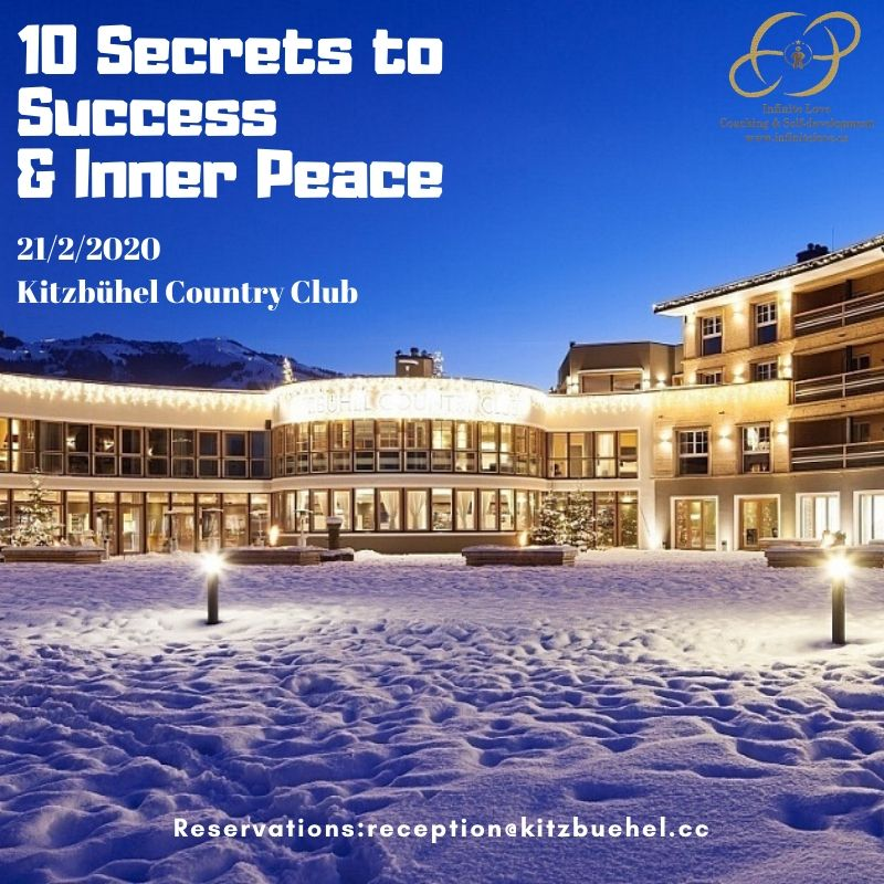seminar in Kitzbuhel Country club by Shima Shad Rouh and Jens Belner February 2020 10 success secrets