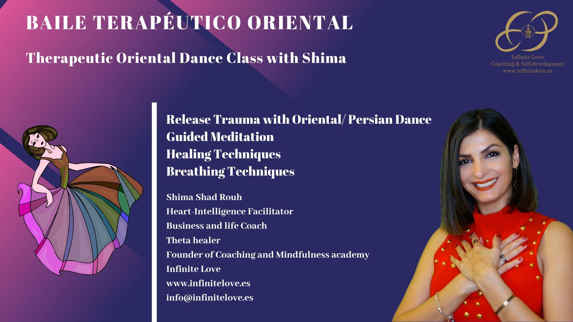 Therapeutic Oriental Dance Class , Baile Terapéutico Oriental
