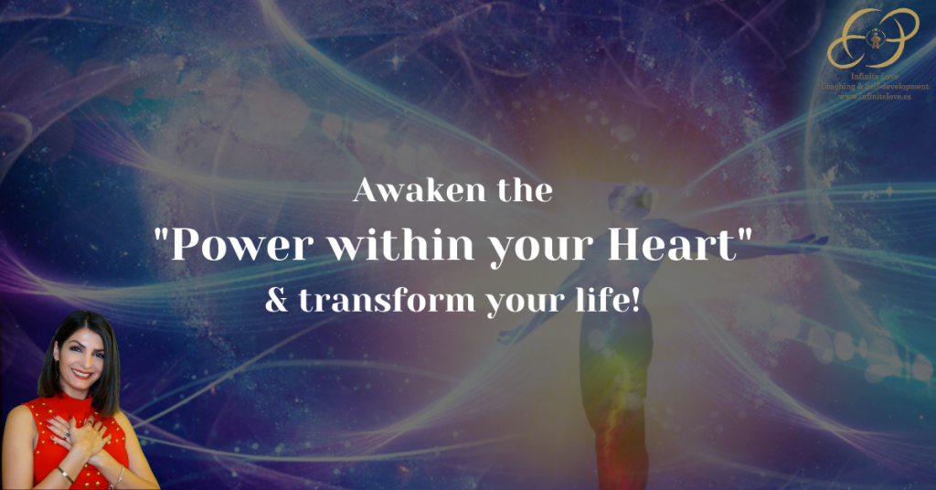 Awaken the power within your heart by Shima Shad Rouh