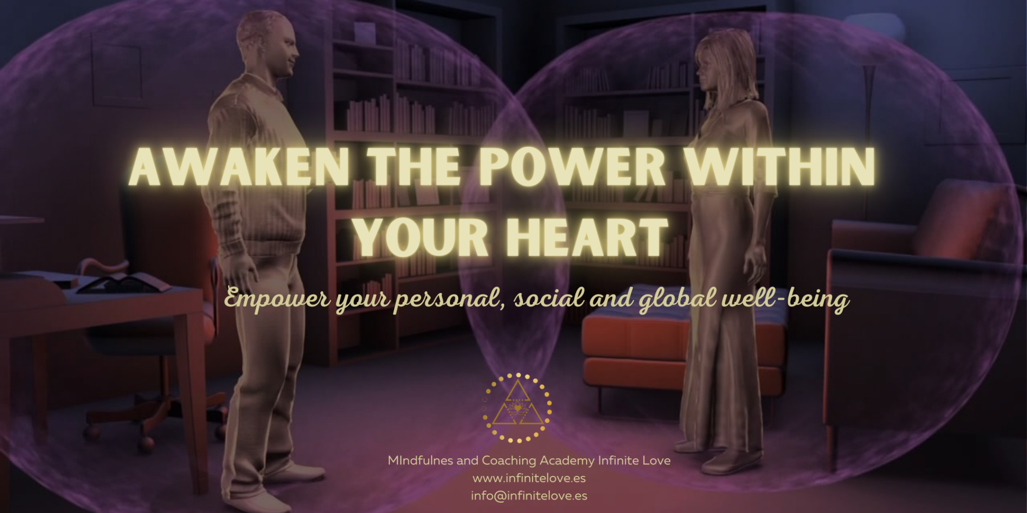 Awaken the power within your heart full day retreat at shanti som marbella by shima shad rouh access your heart intelligence