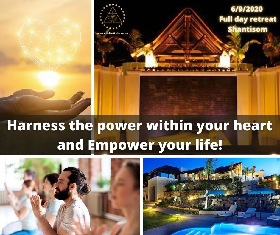 Harness the power within your heart full day workshop at shanti som by Shima Shad Rouh