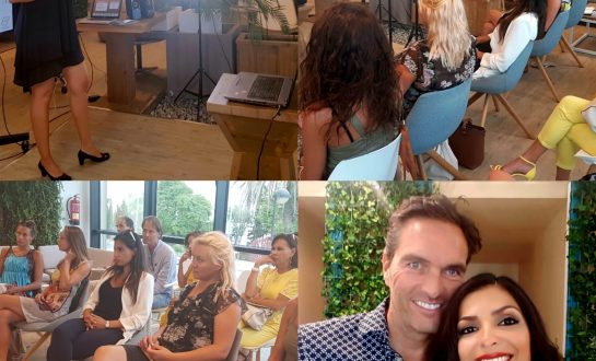 Shima Shad Rouh and Jens Belner, Relationship Coaches of Infinite Love Academy Marbella Malaga Spain. Couple Retreat.